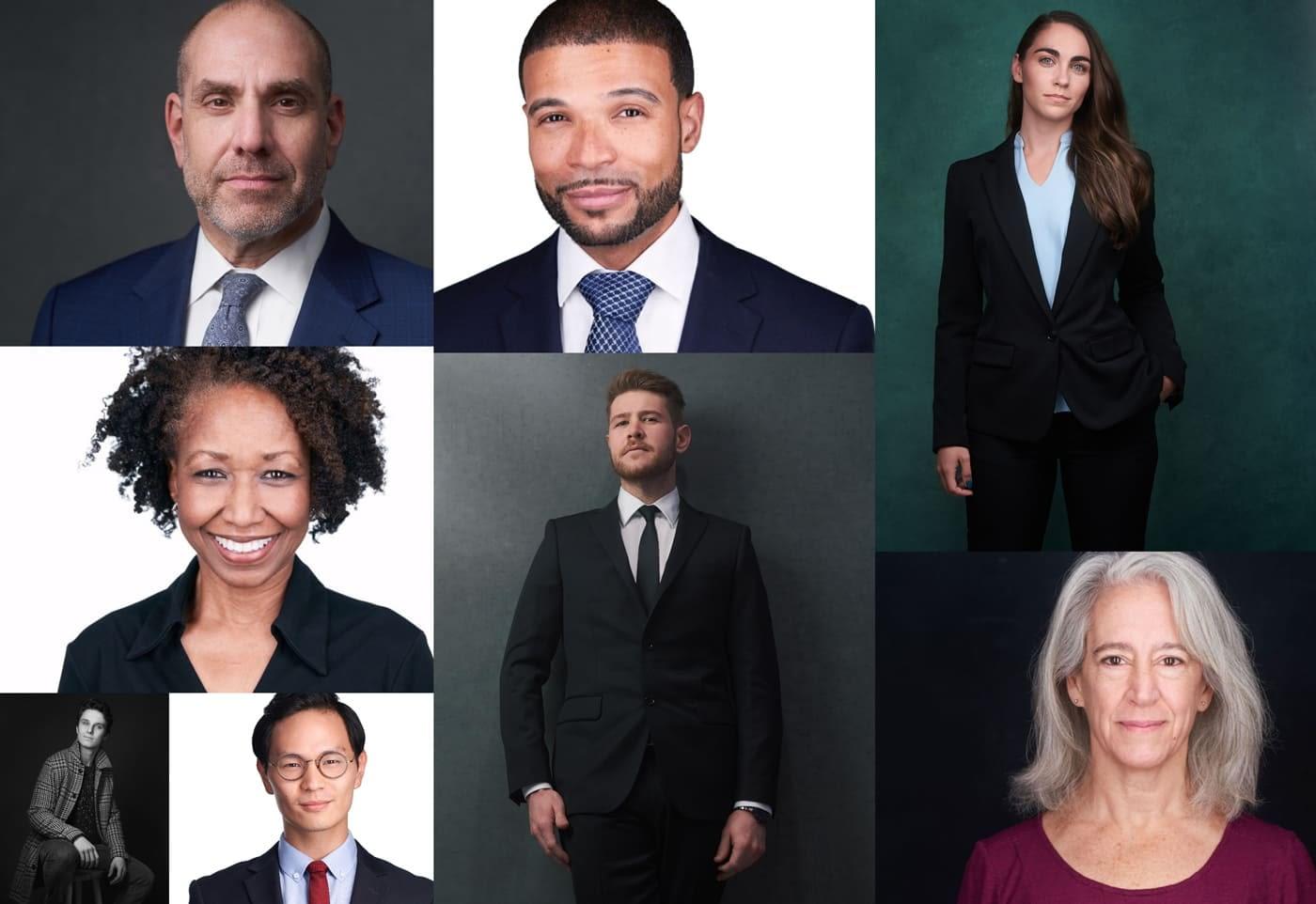 Headshot Photography Collage