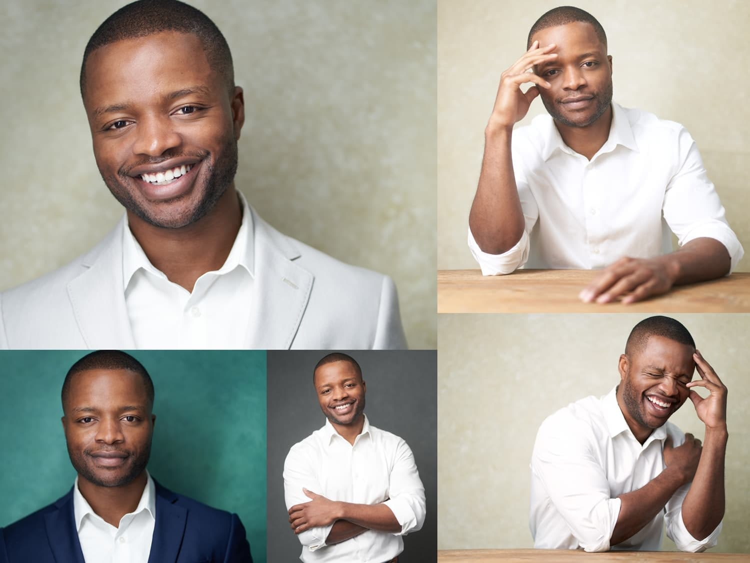 Business Headshots Collage