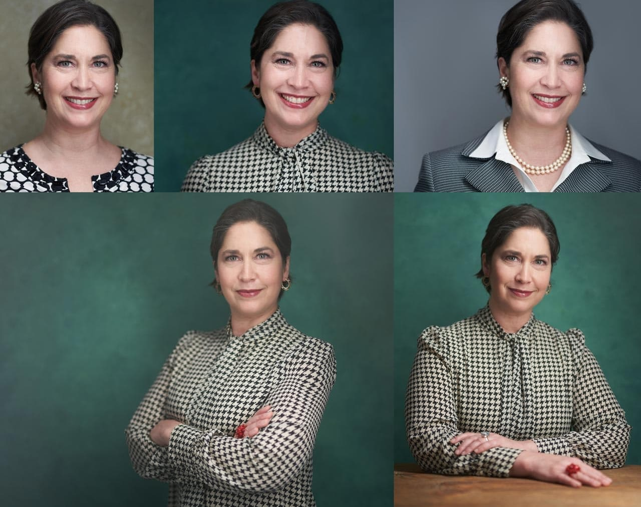 Business Portraits Collage