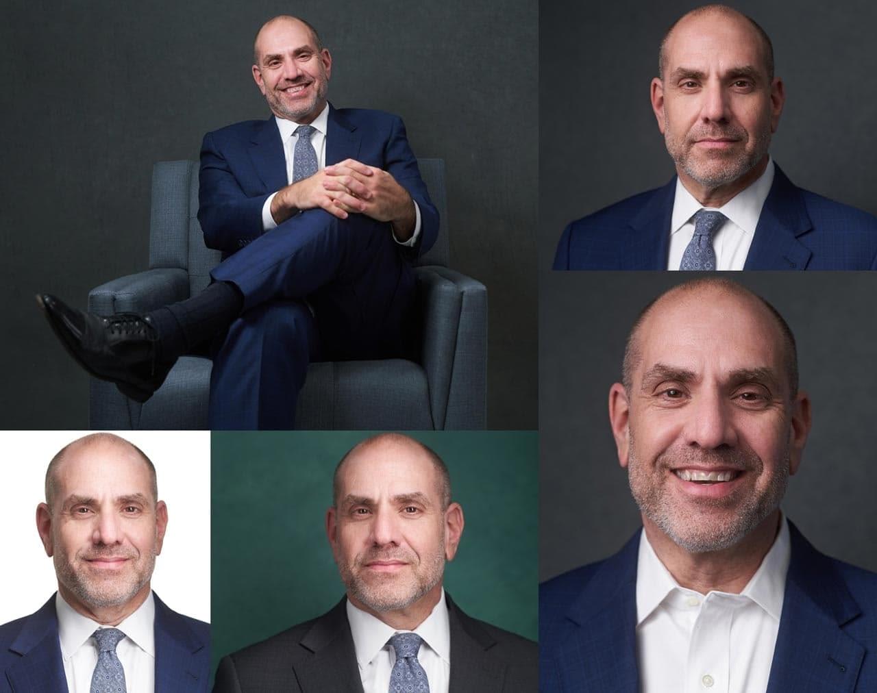 CEO Headshots Collage
