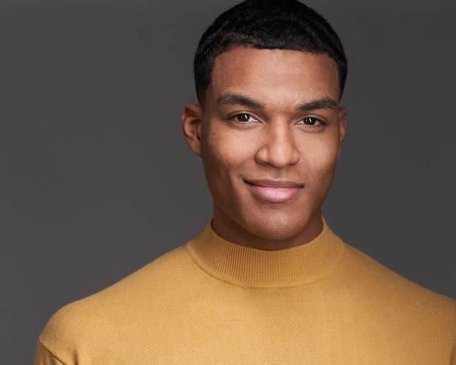 African American Model Headshot in Philadelphia