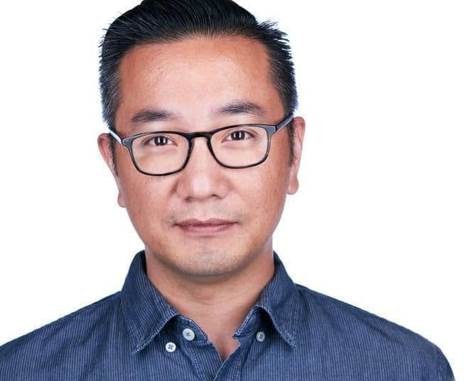 Professional Headshot Glasses White Background